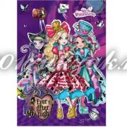 "87131 Блокнот ""Ever After High"", А5, 60 листов, клетка"